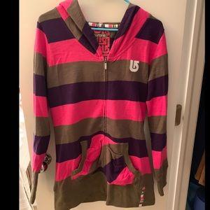 Stripped Burton Sweatshirt
